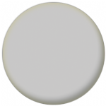 Plain Silver 58mm Fridge Magnet